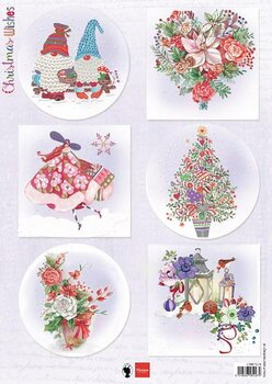 Marianne Design - Klippark - christmas wishes