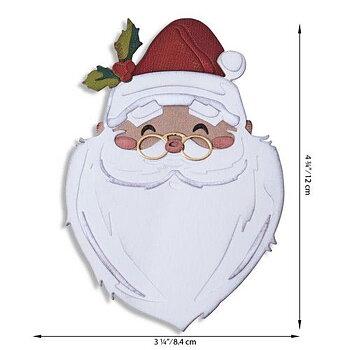 Sizzix Thinlits Die Set - Santas Wish Colorize