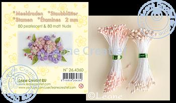 Leane Creatief - Pistiller - ljusrosa/beige