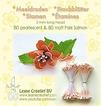 Leane Creatief - Pistiller - peach