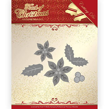 Precious Marieke - Touch of Christmas - poinsetta