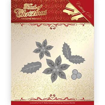 Precious Marieke - Touch of Christmas - poinsetta