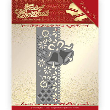 Precious Marieke - Touch of Christmas - christmas bell border