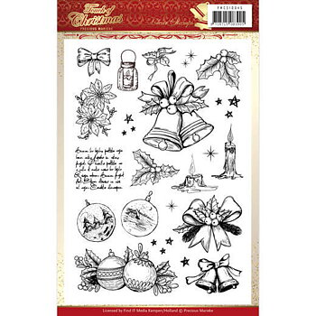 Precious Marieke -   clear stamp - Touch of christmas