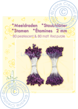 Leane Creatief - Pistiller -dark  purple