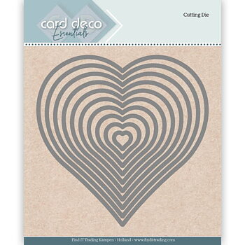 Card Deko - Essentials - Cutting dies -   heart
