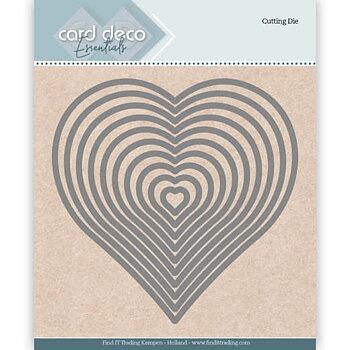 Card Deko - Essentials - Cutting dies -   heart
