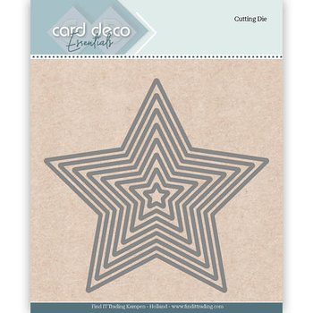 Card Deko - Essentials - Cutting dies -  star