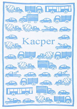 "Baby Blankets  "" Cars""  with a name.  90 x 120 cm"