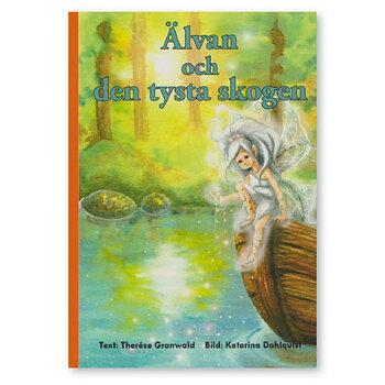 Älvan och den tysta skogen – personlig bok med namn