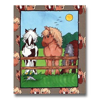 Min egen häst – personlig bok med namn