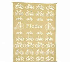"Baby Blankets ""Bicycles"""