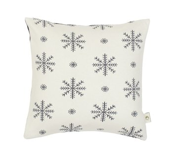 "Pillow  ""snowflake"" with name"