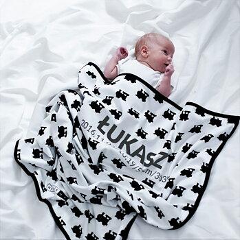 Vauvan peitto nimellä  - CHOO-CHOO