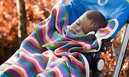 Babydecke. 100 % Wolle MERINO