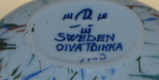 Skål,  Konstkeramik, O Toikka (SÅLD)