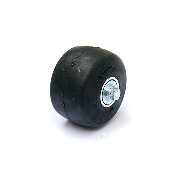 Swenor Fibreglass/Alutech Framhjul, komplett Extra trögt (4)