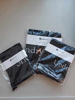 Travel bag - Mix, 3-pack , Black-white