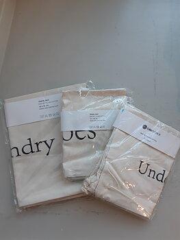 Travel bag - Mix, 3-pack , White-Black