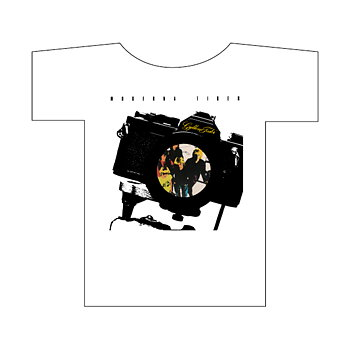 T-shirt: Kamera Dam