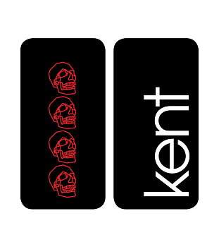 KENT - 2PACK IPHONE 6 SKAL SVART
