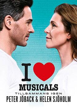 PETER JÖBACK - POSTER, I LOVE MUSICALS 2015