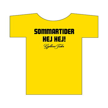 T-shirt: Sommartider