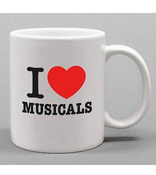 PETER JÖBACK - MUGG, I LOVE MUSICALS