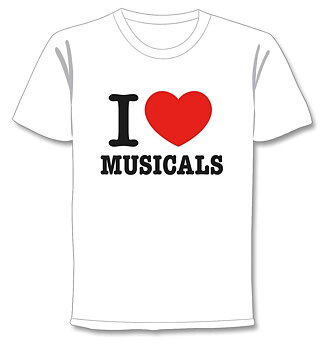 PETER JÖBACK - T-SHIRT, I LOVE MUSICALS 2015