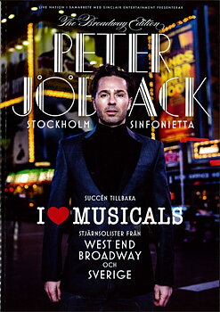 PETER JÖBACK - PROGRAM, I LOVE MUSICALS
