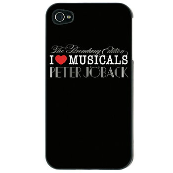 PETER JÖBACK - IPHONE 4 SKAL, I LOVE (BROADWAY EDT.)