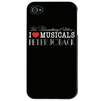 PETER JÖBACK - IPHONE 5 SKAL, I LOVE (BROADWAY EDT.)