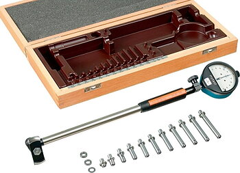 Innermikrometer 160-290 mm, hårdmetallstift, SCHWENK