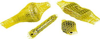 Skyddsnät, plast, 40-60mm diameter 150 meter, gul