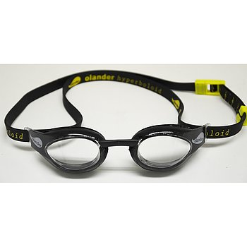 Olander Hyperboloid -black with clear lens