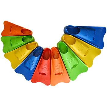 Olander short rubber fins