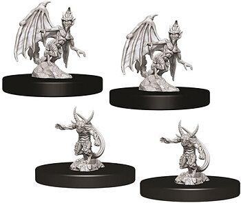 D&D Nolzurs Marvelous Unpainted Miniatures: W9 Imps & Quasits