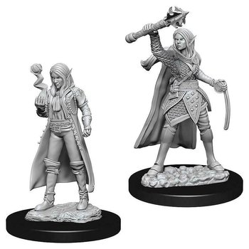 D&D Nolzurs Marvelous Miniatures: Female Elf Cleric