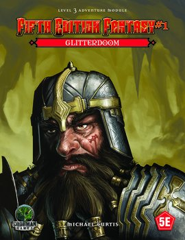 Fifth Edition Fantasy #1 – Glitterdoom + PDF