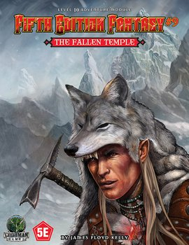Fifth Edition Fantasy #9 - The Fallen Temple + PDF