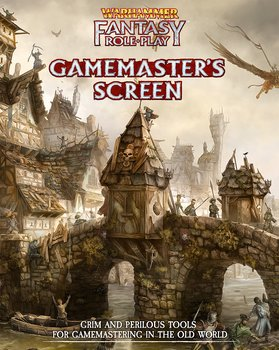 Warhammer Fantasy Roleplay - Gamemasters Screen + PDF
