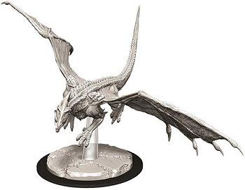 D&D Nolzurs Marvelous Unpainted Miniatures: Young White Dragon (1)