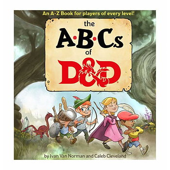 Dungeons & Dragons Book The ABCs of D&D