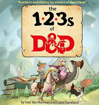 Dungeons & Dragons Book The 123s of D&D