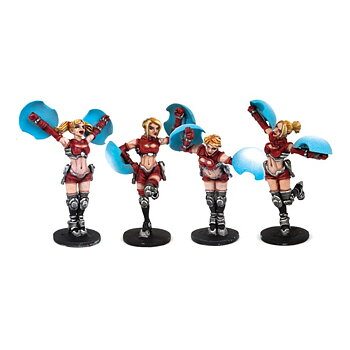 Dreadball - Cheerleaders