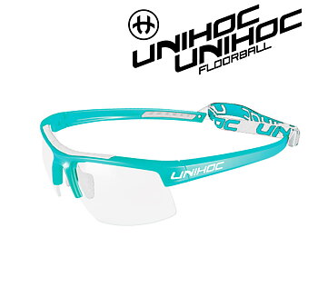 Unihoc Eyewear Energy Junior turquoise / white