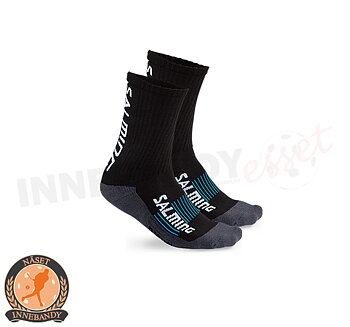Näset IBF - Salming Advanced Indoor Socks Short - Black