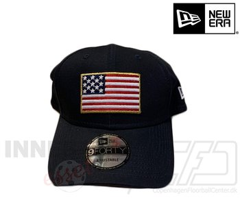 New Era American Flag 9forty black