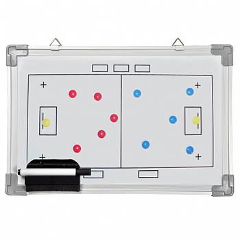 Whiteboard 30 x 45 - Innebandy - inkl. penna och magneter