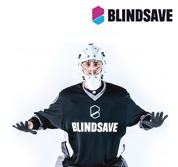 Blindsave Goalie Jersey black/grey